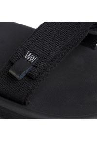 Czarne sandały trekkingowe Jack Wolfskin na lato