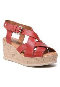 Czerwone sandały Pikolinos