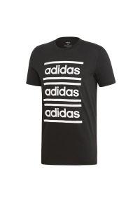 Koszulka sportowa Adidas krótka, na lato, w kolorowe wzory