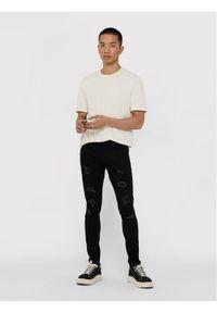 Only & Sons - ONLY & SONS T-Shirt Millenium 22018868 Biały Regular Fit. Kolor: biały