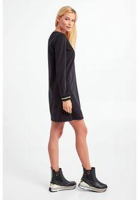 Liu Jo - SUKIENKA LIU JO. Wzór: haft. Typ sukienki: proste. Długość: mini