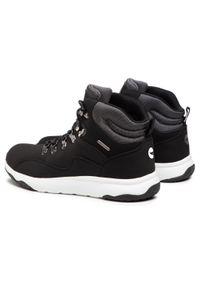 Czarne buty trekkingowe Hi-tec trekkingowe