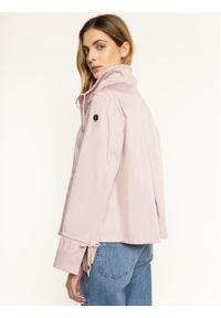 Różowa kurtka przejściowa Trussardi Jeans