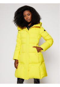 Żółta kurtka puchowa Hetrego