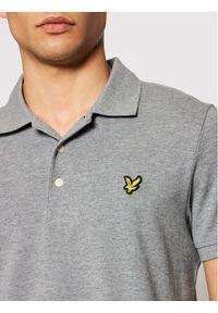 Szara koszulka polo polo