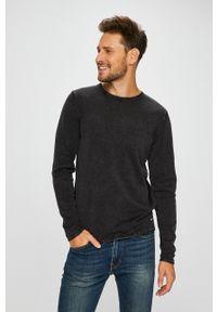 Only & Sons - Sweter. Okazja: na co dzień. Kolor: czarny. Materiał: dzianina. Wzór: gładki. Styl: casual