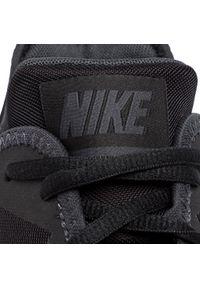 Czarne półbuty Nike sportowe, z cholewką