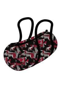 DOMYOS - Torba fitness cardio składana 15 l. Kolor: wielokolorowy. Materiał: materiał, poliester. Sport: fitness