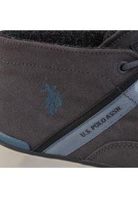 U.S. Polo Assn - Trzewiki U.S. POLO ASSN. - Tyrell ANSON7105W9/S1 Mdgr. Kolor: szary. Materiał: skóra, zamsz. Szerokość cholewki: normalna