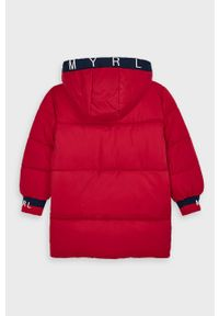 Czerwona kurtka Mayoral na co dzień, casualowa