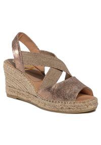 Złote sandały Kanna