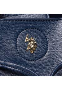 Niebieska torebka worek U.S. Polo Assn casualowa