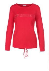 Czerwony sweter Born2be