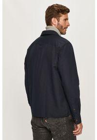 Niebieska koszula Calvin Klein długa, z klasycznym kołnierzykiem