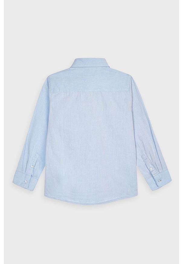 Niebieska koszula Mayoral casualowa, na co dzień, długa