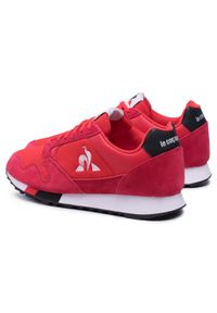 Le Coq Sportif - Sneakersy LE COQ SPORTIF - Manta 2110035 Fiery Red. Kolor: czerwony. Materiał: materiał, zamsz. Szerokość cholewki: normalna. Styl: klasyczny