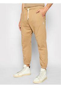 Imperial Spodnie dresowe PD2HBLA Brązowy Regular Fit. Kolor: brązowy. Materiał: dresówka