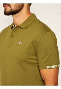 Zielona koszulka polo Tommy Jeans polo