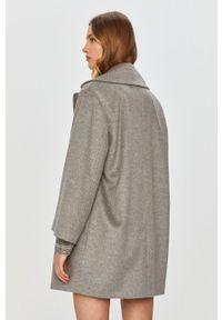 Szary płaszcz MAX&Co. bez kaptura, klasyczny
