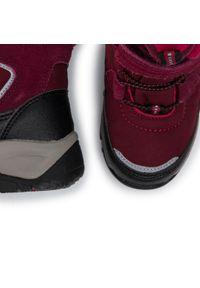 Reima - Śniegowce REIMA - Denny 569354 3690. Kolor: czerwony. Materiał: skóra ekologiczna, materiał, zamsz