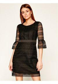 Czarna sukienka Pennyblack na co dzień, prosta, casualowa