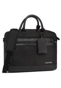 Czarna torba na laptopa Calvin Klein