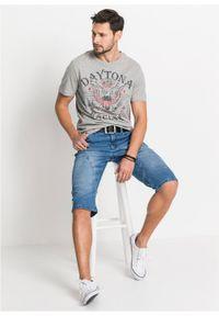 Niebieskie jeansy bonprix długie #7