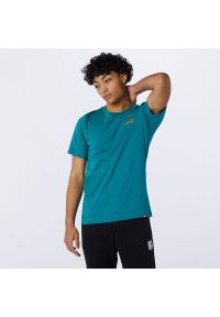T-shirt New Balance z krótkim rękawem, na co dzień, krótki