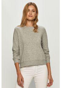Szara bluza Jacqueline de Yong casualowa, z długim rękawem