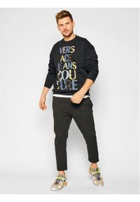 Czarna bluza Versace Jeans Couture