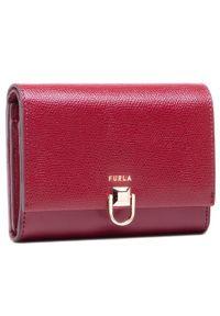 Czerwony portfel Furla