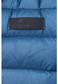 Hetrego - Bezrękawnik puchowy Ollie. Okazja: na co dzień. Kolor: niebieski. Materiał: puch. Długość rękawa: bez rękawów. Styl: casual