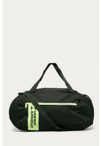 Zielona torba Under Armour sportowa, z nadrukiem