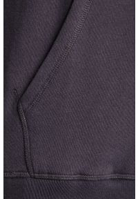 Niebieska bluza nierozpinana Pepe Jeans z nadrukiem, z kapturem