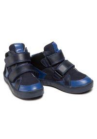 Bartek - Trzewiki BARTEK - 24414-003/Q51 Niebieski. Kolor: niebieski. Materiał: skóra, zamsz. Szerokość cholewki: normalna. Sezon: zima, jesień