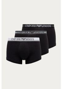 Czarne majtki Emporio Armani gładkie