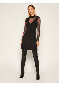 Czarna sukienka dzianinowa Desigual