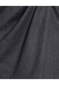 Pinko - PINKO - Spódnica Renzo. Kolor: szary. Styl: klasyczny, elegancki
