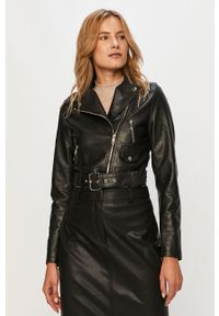Czarna kurtka Glamorous casualowa, na co dzień, bez kaptura
