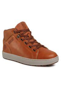Big-Star - BIG STAR Sneakersy GG174517 Brązowy. Kolor: brązowy