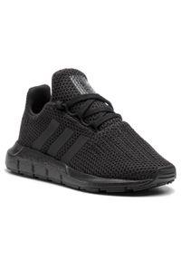 Czarne półbuty Adidas na co dzień, casualowe