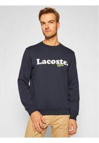 Niebieska bluza Lacoste