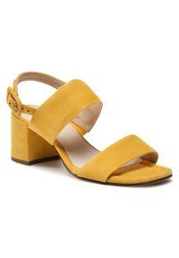 Żółte sandały HÖGL