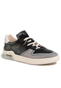 Czarne sneakersy Coach z cholewką