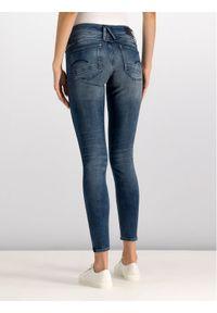 G-Star RAW - G-Star Raw Jeansy D06746-8968-812 Granatowy Skinny Fit. Kolor: niebieski. Materiał: jeans