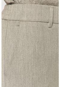 Szare spodnie materiałowe Vero Moda gładkie, casualowe