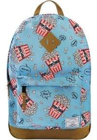 Incood Plecak Popcorn niebieski. Kolor: niebieski