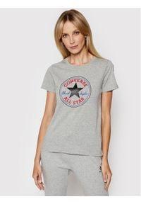 Converse T-Shirt Chuck Taylor Patch Nova 10017759 Szary Standard Fit. Kolor: szary
