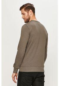 Zielona bluza nierozpinana PRODUKT by Jack & Jones z nadrukiem, bez kaptura