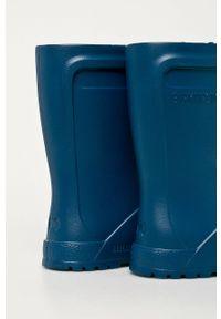 Niebieskie kalosze Birkenstock